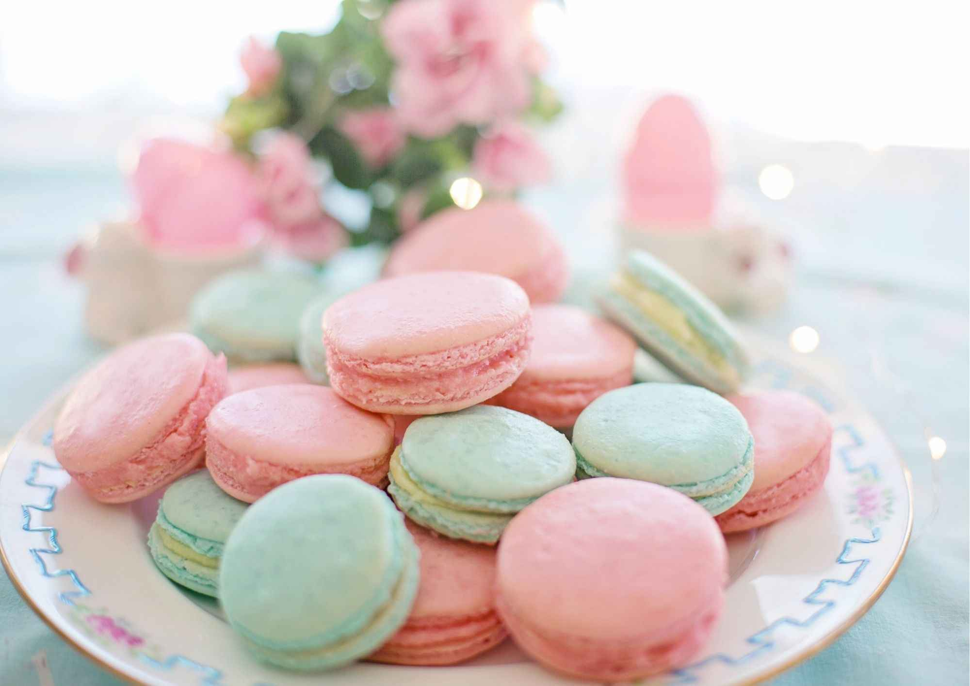 Macarons colorant alimentaire