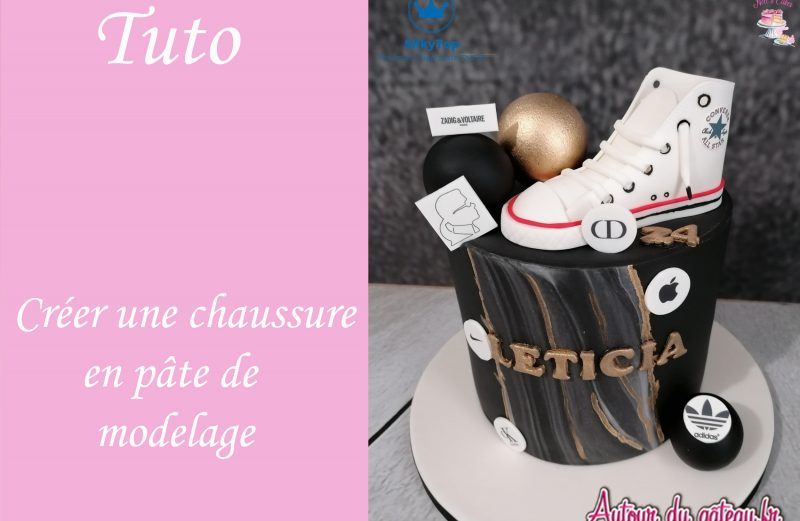 modelage-basket-converse-pate-a-sucre-tuto-video