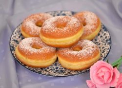 recette-donuts-nature-sucre-usa-four-moelleux