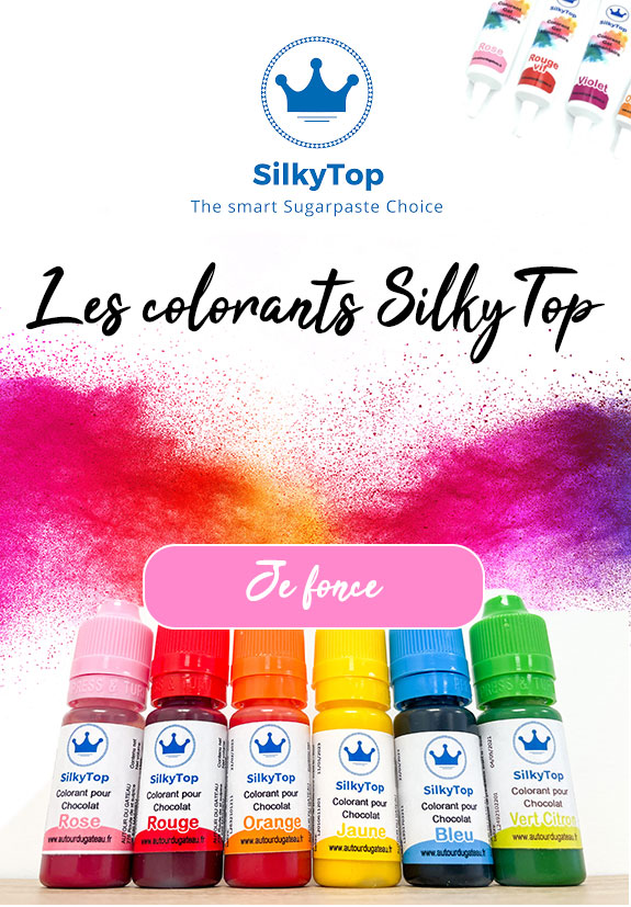 Colorants alimentaires silkytop